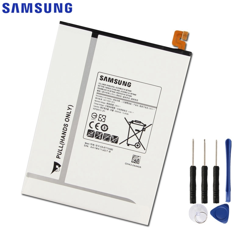 Оригинальная запасная батарея Samsung для Galaxy Tab S2 8,0 T710 T715 T715C SM T713N T719C EB-BT710ABE EB-BT710ABA 4000 мАч