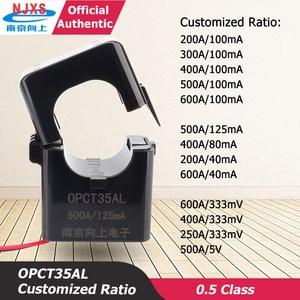 Current Sensor Clamp CT Transformer OPCT35AL 100A/333mV  400A/333mV 500A/5V Ferrite Core Sensor