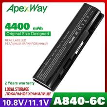 4400 Mah Batteria Del Computer Portatile per Dell Vostro 1014 1015 A840 A860 312-0818 451-10673 F286H F287F F287H g069H R988H