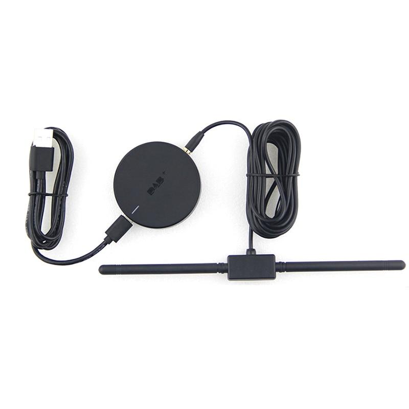 Puerto USB tipo C Car DAB/DAB + receptor de Radio Digital transmisión...