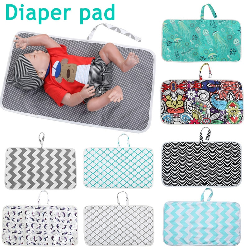 2020 Newborn Nappy Diaper Play Changing Mat Portable Foldable Washable for Travel