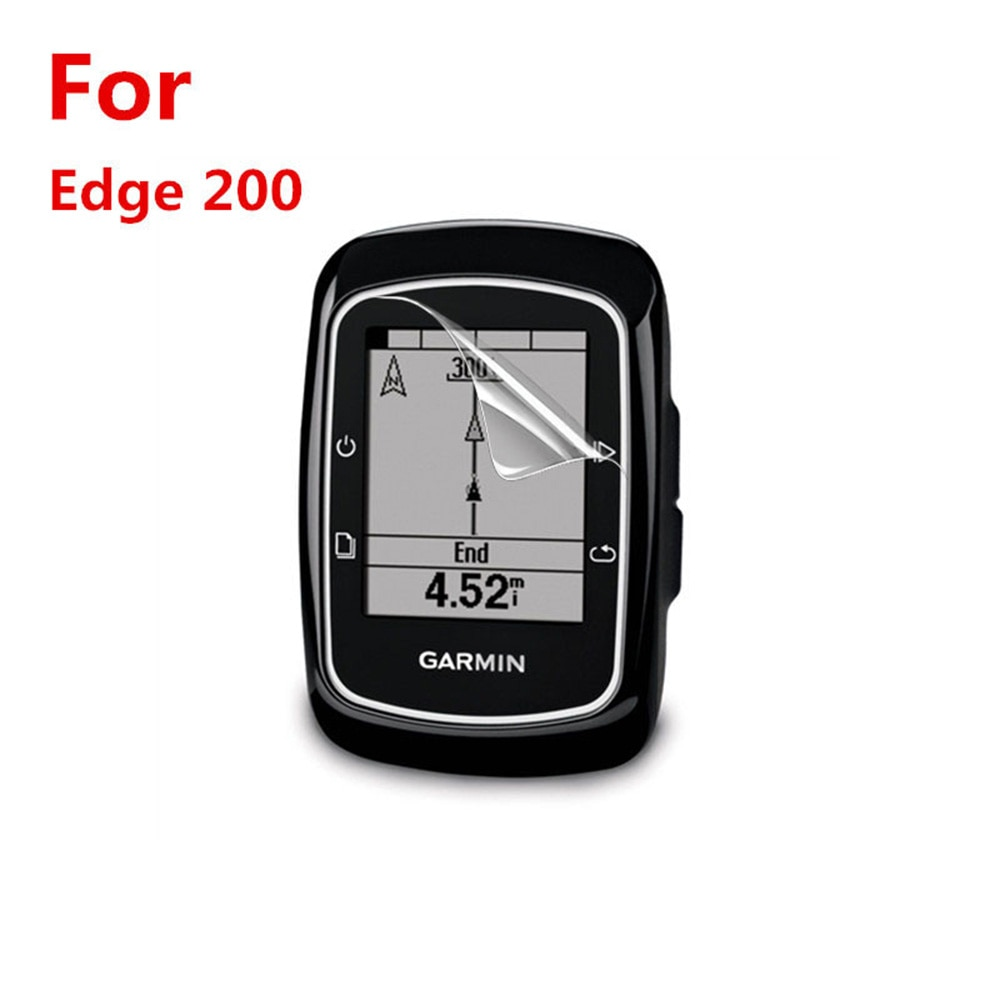 For GARMIN Edge 200 Protective Film Sports Watch Accessories With Cleaning Kit