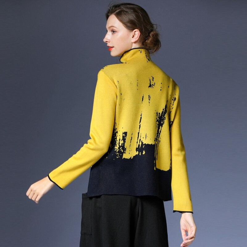 Ropa de lana de talla grande de manga larga 2020 cachemir suéter tejido de lana suelto para mujer S901