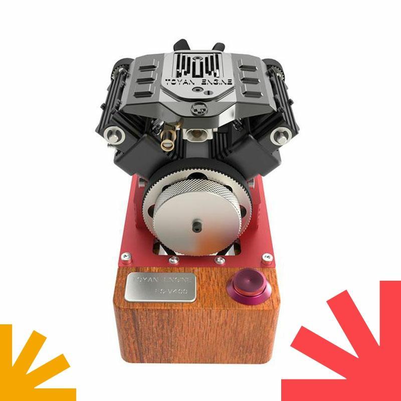 FS-V400A أربع أسطوانات V4 محرك أربع أسطوانات البنزين RC محرك نموذج سيارة نموذج باخرة المحرك