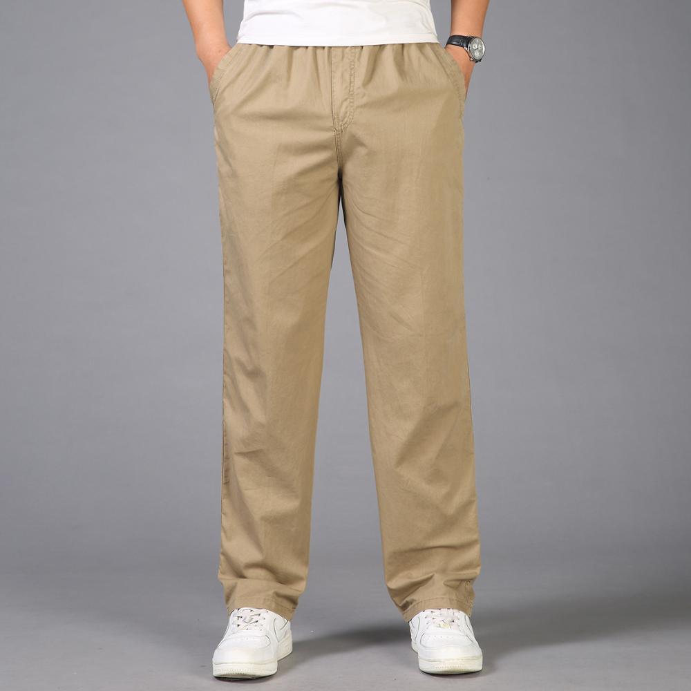 2021 модные летние мужские брюки, повседневные хлопковые длинные брюки, прямые джоггеры, мужские бриджи, роскошные деловые брюки для мужчин