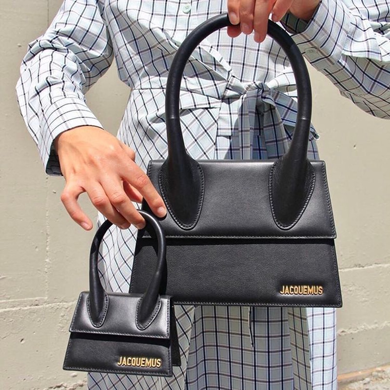 jacquemus bag handbags women famous brand pu leather shoulder crossbody bags luxury designer small purses mini tote clutch strap