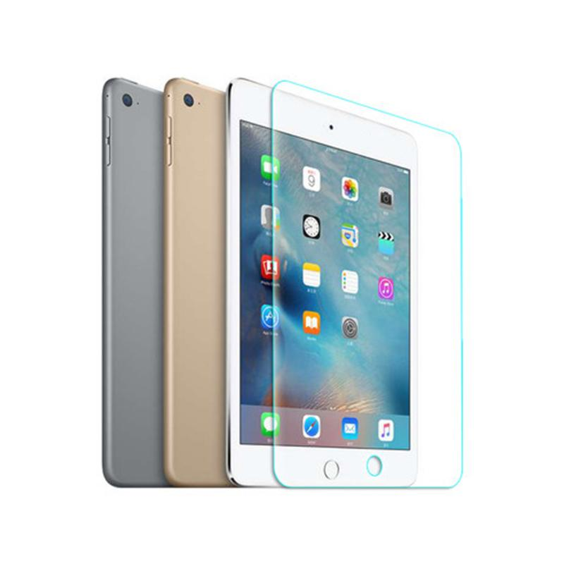 0.33mm Premium HD Real Genuine Tempered Glass Film LCD Screen Protector Guard Film For Apple Ipad Air 1 & 2 Ultra Thin Clear