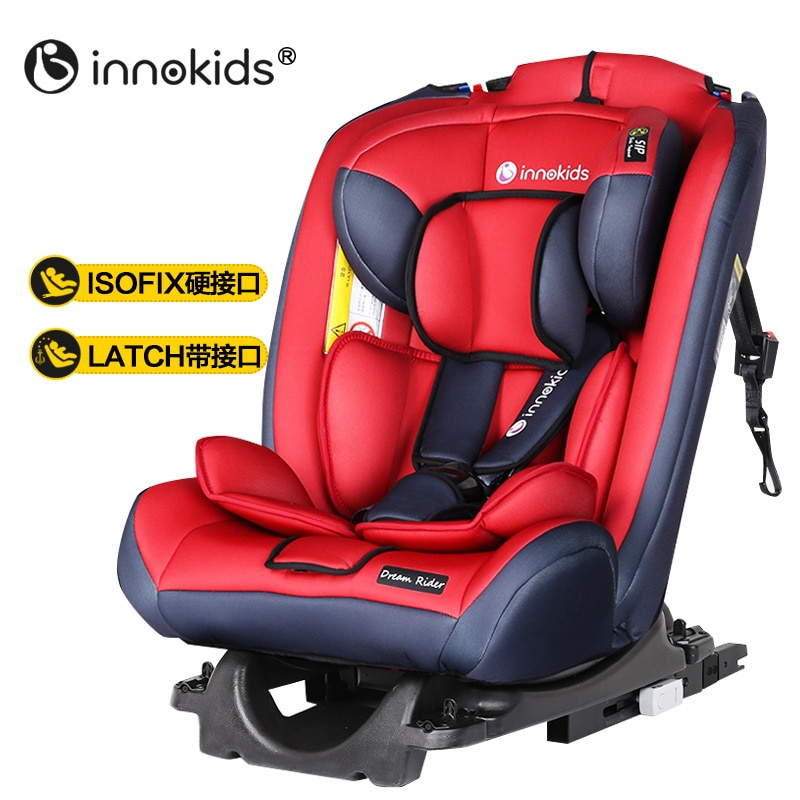 360 Degree Baby Car Seat Child Car Safety Seat Isofix Latch Connection 0-12 Years Baby Booster Car Seat ECE