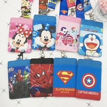 Porte-monnaie PU point Disney porte-clé porte-carte porte clé lanière repas carte bus porte-monnaie sac Mickey mouse porte-documents