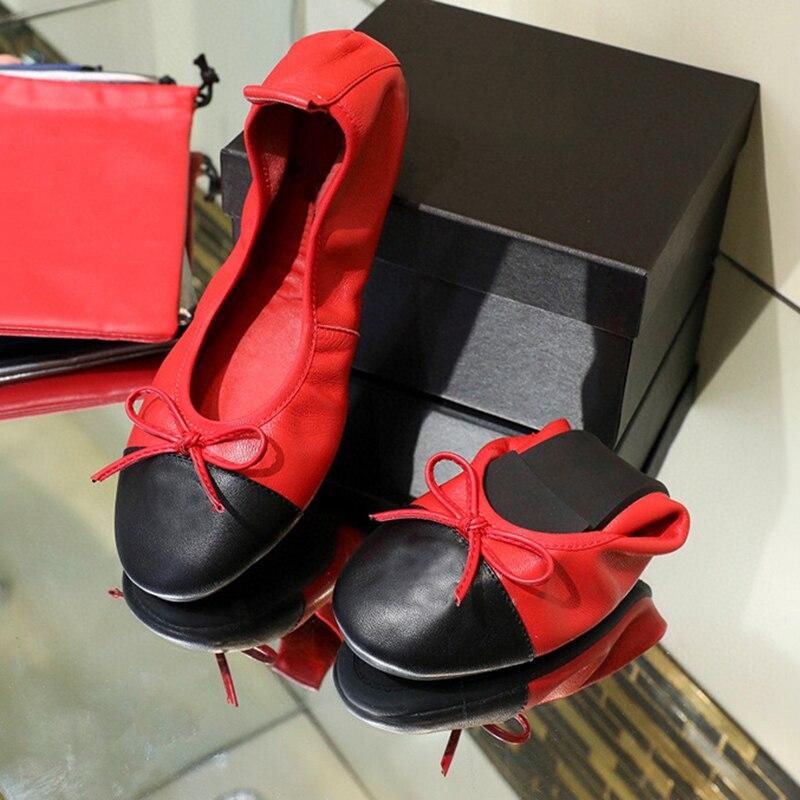Flat Heels Shoes Women Zapatos Mujer مقاس كبير 41 حذاء باليه مسطح نسائي خريف 2021 جديد خطوة واحدة أحذية عمل باليه ناعمة مريحة بنعل غير رسمي