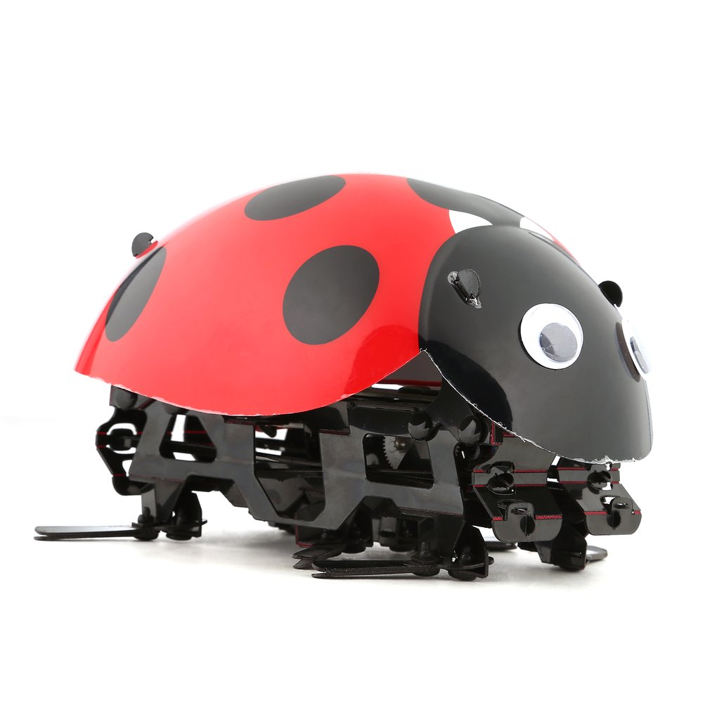 Remote Control Simulate Ladybug Beetle Electronic Toy DIY Kids Birthday Christmas Gift For Children Toys Cockroach rc Insect enlarge