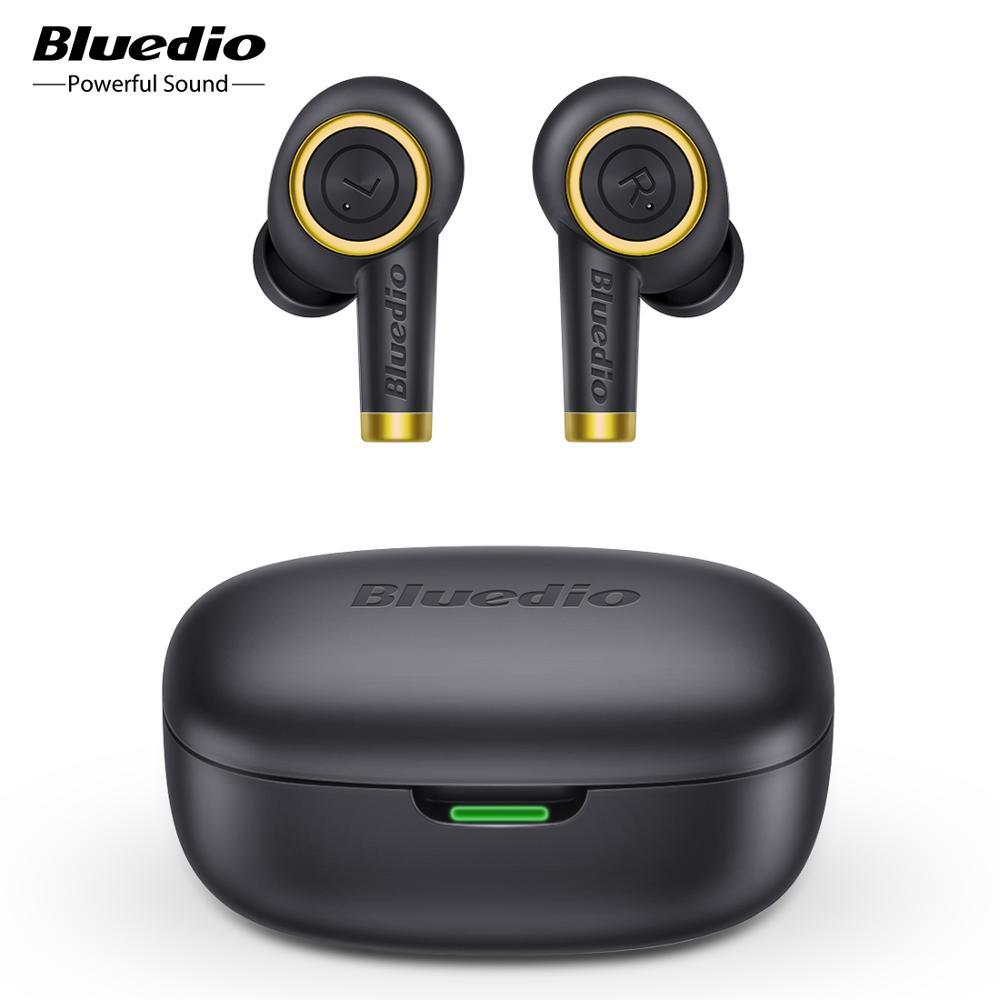 Bluedio Particle TWS Earbuds bluetooth Earphone waterproof Headsets wireless sport Earphone with charging box