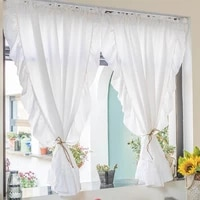 american ruffles white blackout curtains for living room bedroom luxury pure white %d1%88%d1%82%d0%be%d1%80%d1%8b lotus leaf edge rococo cortinas
