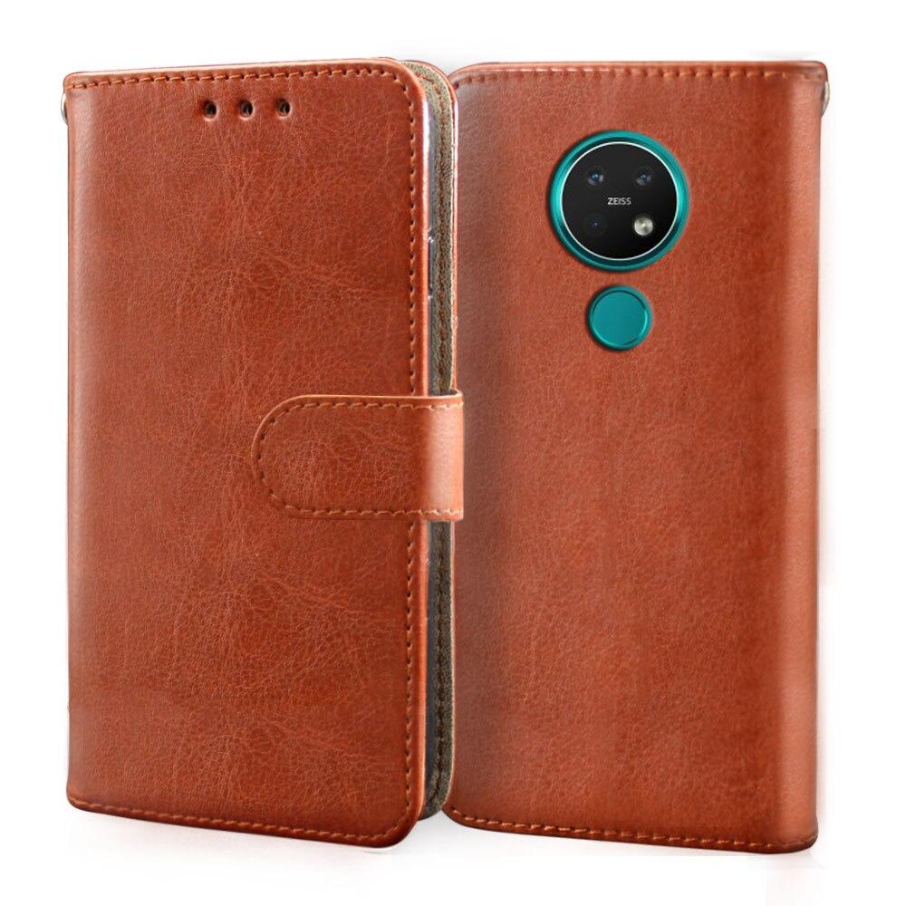 Роскошный кожаный чехол с Откидывающейся Крышкой для Nokia 1 2 2,1 2,2 3 3.1A 3,1 3,2 7,2 8,1 Plus Чехол-Бумажник для телефона с отделениями для карт силиконовый чехол