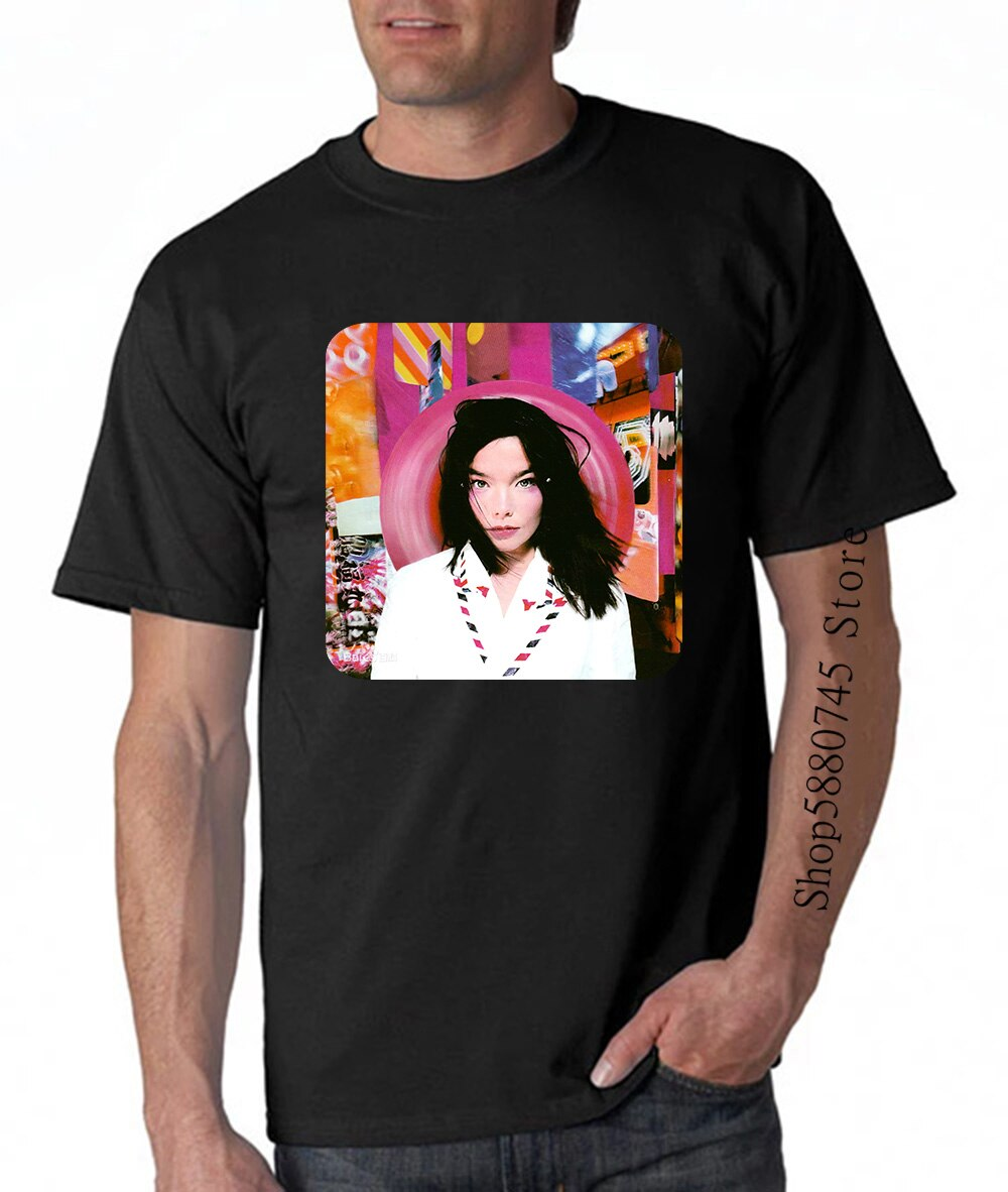Bjork vintage 90s 1995 post raro camiseta vintage