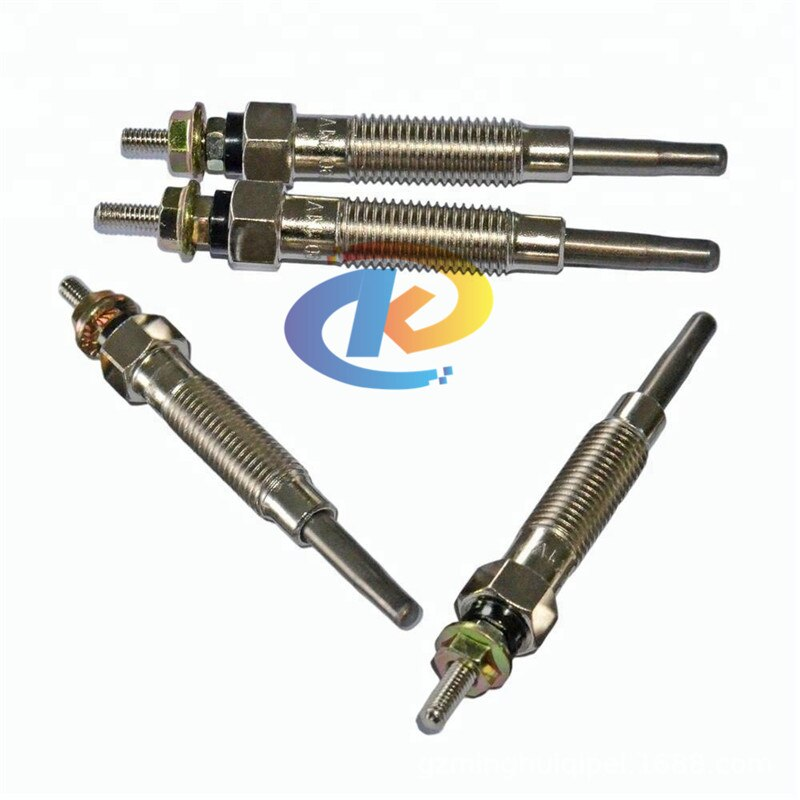 New 4PCS Glow Plug 12V For Mitsubishi PAJERO MONTERO II 2nd 2.8D 4M40 1993-1994 ME200970 ME203754 ME203583 ME201632