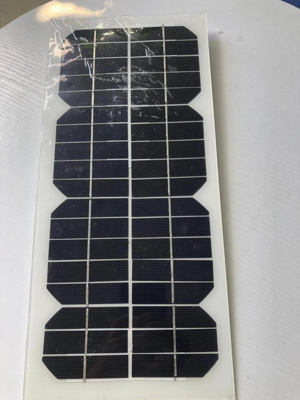 Paneles Solares Flexibles 20w 24v Zonnepaneel 12 voltios 10 vatios 2 uds. Cargador de teléfono con batería Solar impermeable coche Camping caravana Diy