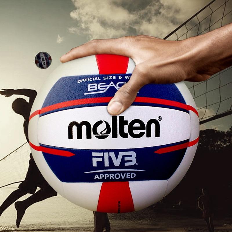 Volleyball Beach material Professional Soft High-quality Volleyball Touch Volleyballs PU quality match V5B5000 Training Beach Vo
