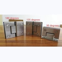 sus304 stainless steel hinges wall installation glass shower door hinges for home bathroom furniture hinges
