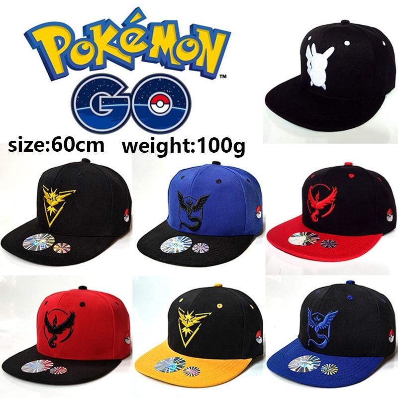 Pokemon Go Ash Pikachu Anime de dibujos animados de celebridades inspirado Cosplay sombrero Snapback algodón gorras de béisbol sombrero de malla para adultos Dropshipping
