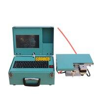 40x160mm Computer type Handheld pneumatic marking machine Portable industrial tag machinemetal engraving machine