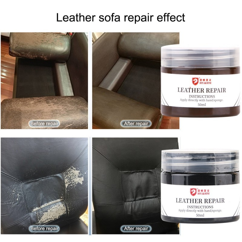 Car Seat Paint Care Scratch Remover Leather Repair Tool Liquid Retouching Interior Cleaner Accessories