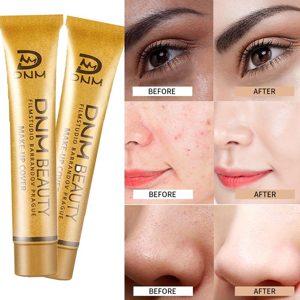 DNM 14 Colors Cover Full Face Concealer Palette Corrector Contour Eye Makeup Concealer Face Freckle Cream Contouring Foundation