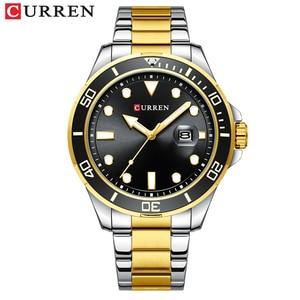 Watch Men Stainless Steel Waterproof 2020 New CURREN Mens Watches Fashion Chronograph Sport Watch Quartz Clock Relogio Masculino