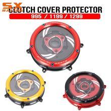 Coque de Protection pour moto 959 1199 1299   Couvercle de Protection pour embrayage et moteur, Transparent, Panigale S Anniversario