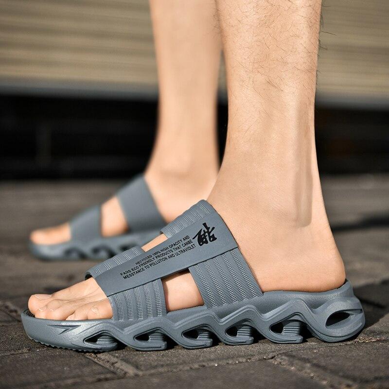 Casual Shoes Summer Man Sandal Soft Mesh Beach Slipper Man Swimming Sandal Foam Running Comfortable