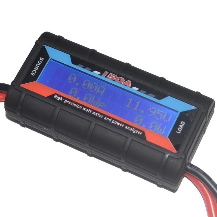 G. t. power RC Power Analyzer Watt Meter LCD Display Hohe Präzision für Spannung Strom Power Kapazität und Energie Messung 130A