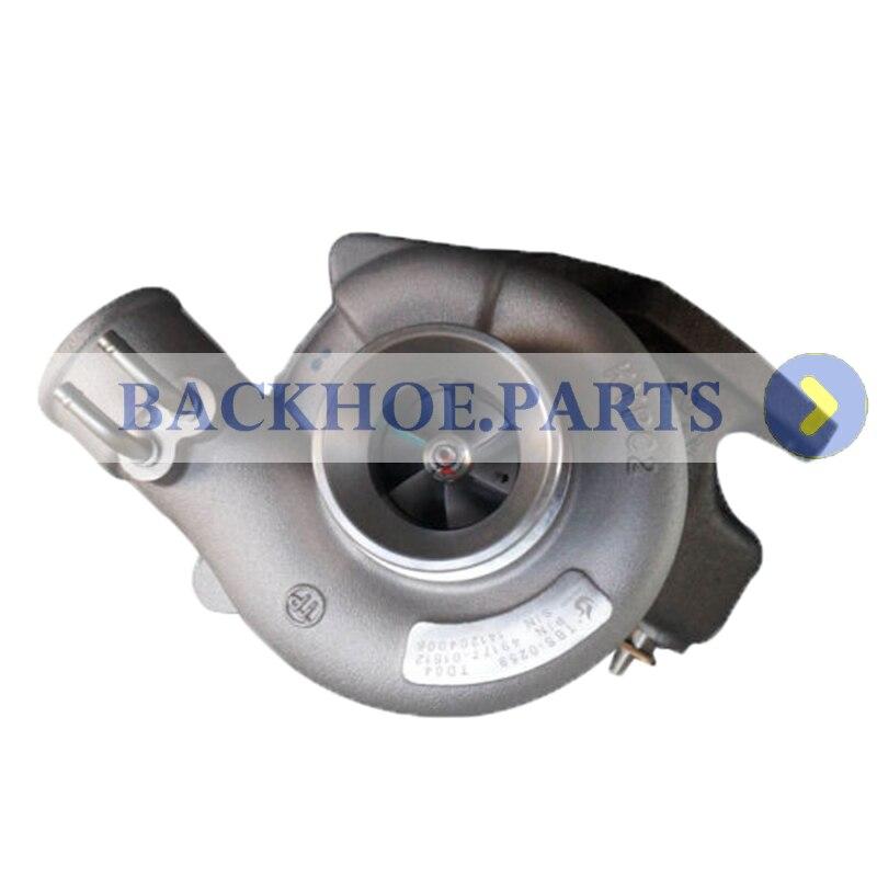 Turbocompresor MD194841 para Mitsubishi Pajero NK nd 2,5 4D56T TD04-10T