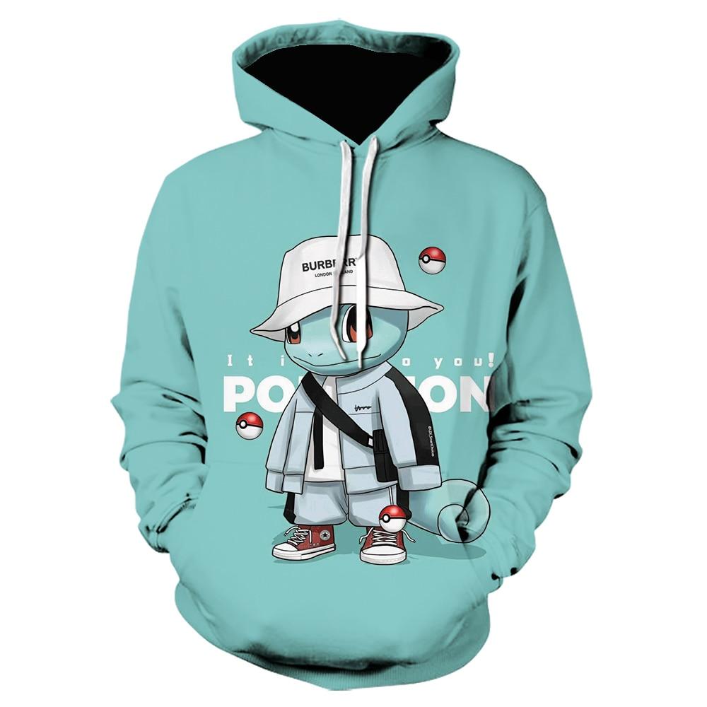 2021 Spring And Autumn 3d Anime Print Men's Hoodie Boy Cute Cartoon Hoodie Casual Street Anime Winter Comfortable Sweatshirt