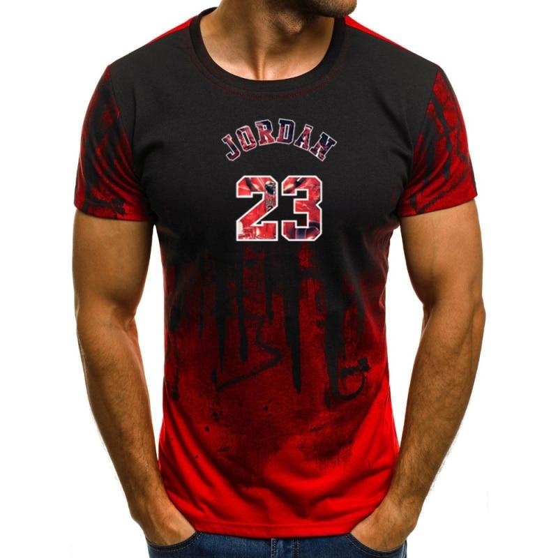 2020 nueva ropa de marca Jordan 23 hombres camiseta michael jordan T...