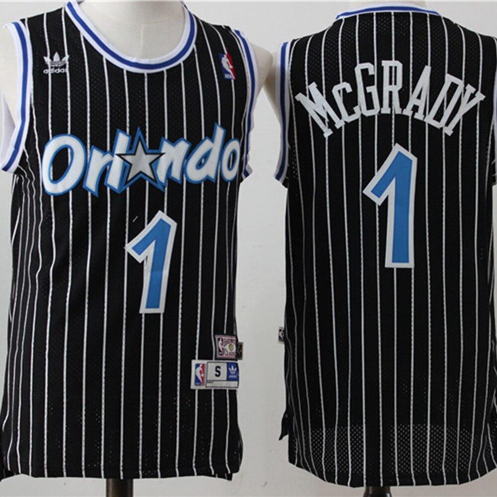 La NBA de los hombres de los Toronto Raptors #1 Tracy McGrady...