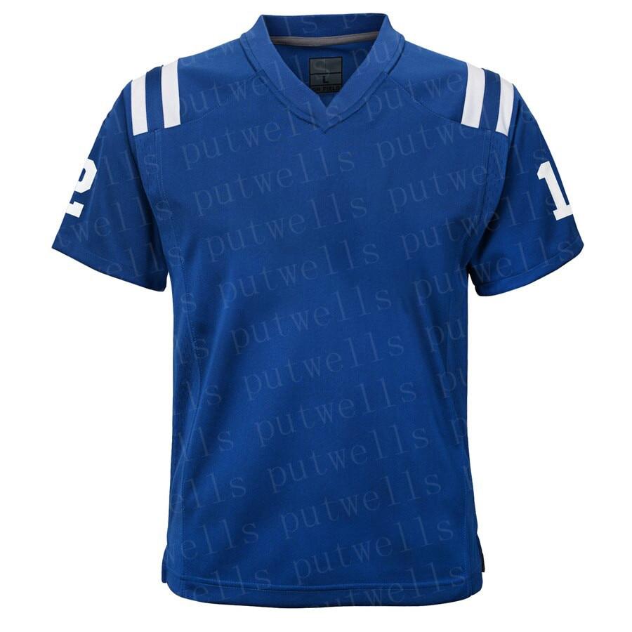 Camiseta del juego de fútbol americano de Indianápolis, Philip Rivers, gru Manning, Darius, Leonard, Eric Dickerson, T.Y. Hilton suerte camisetas