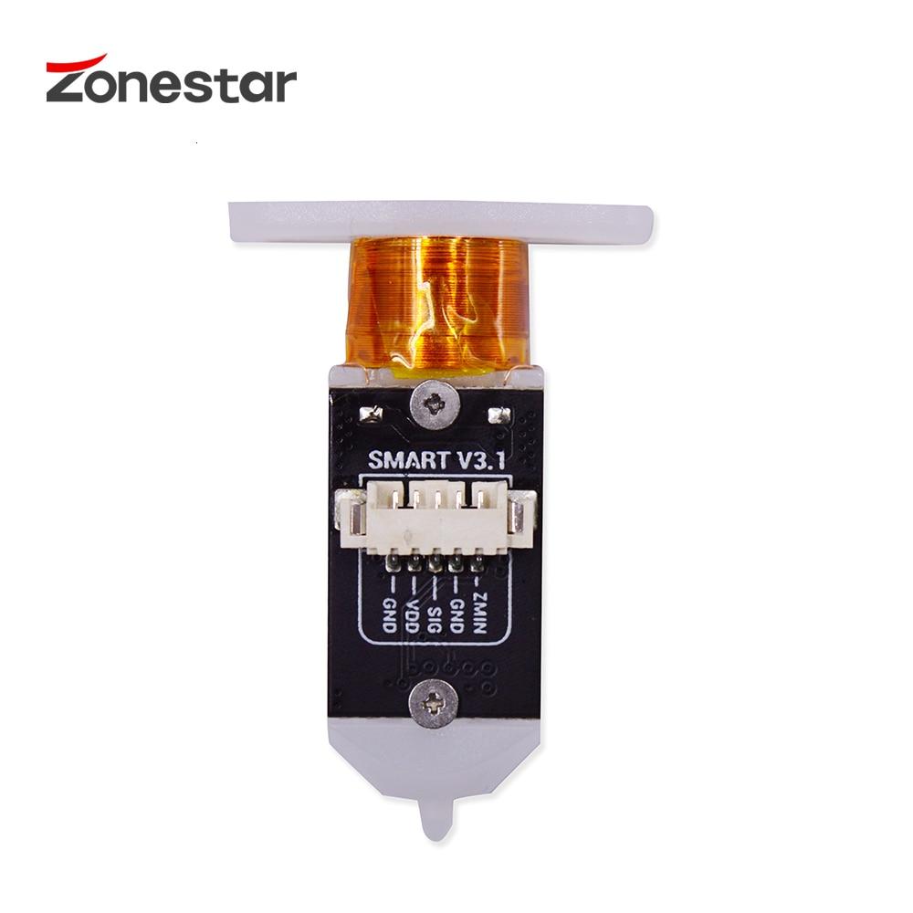 Zonestar 3d impressora sensor de nivelamento automático cama toque 3d sensor de nivelamento