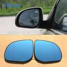 SmRKE-lunettes et rétroviseurs bleus   2 pièces pour Hyundai Verna, rétroviseurs arrière, feux de clignotants, chauffage électrique