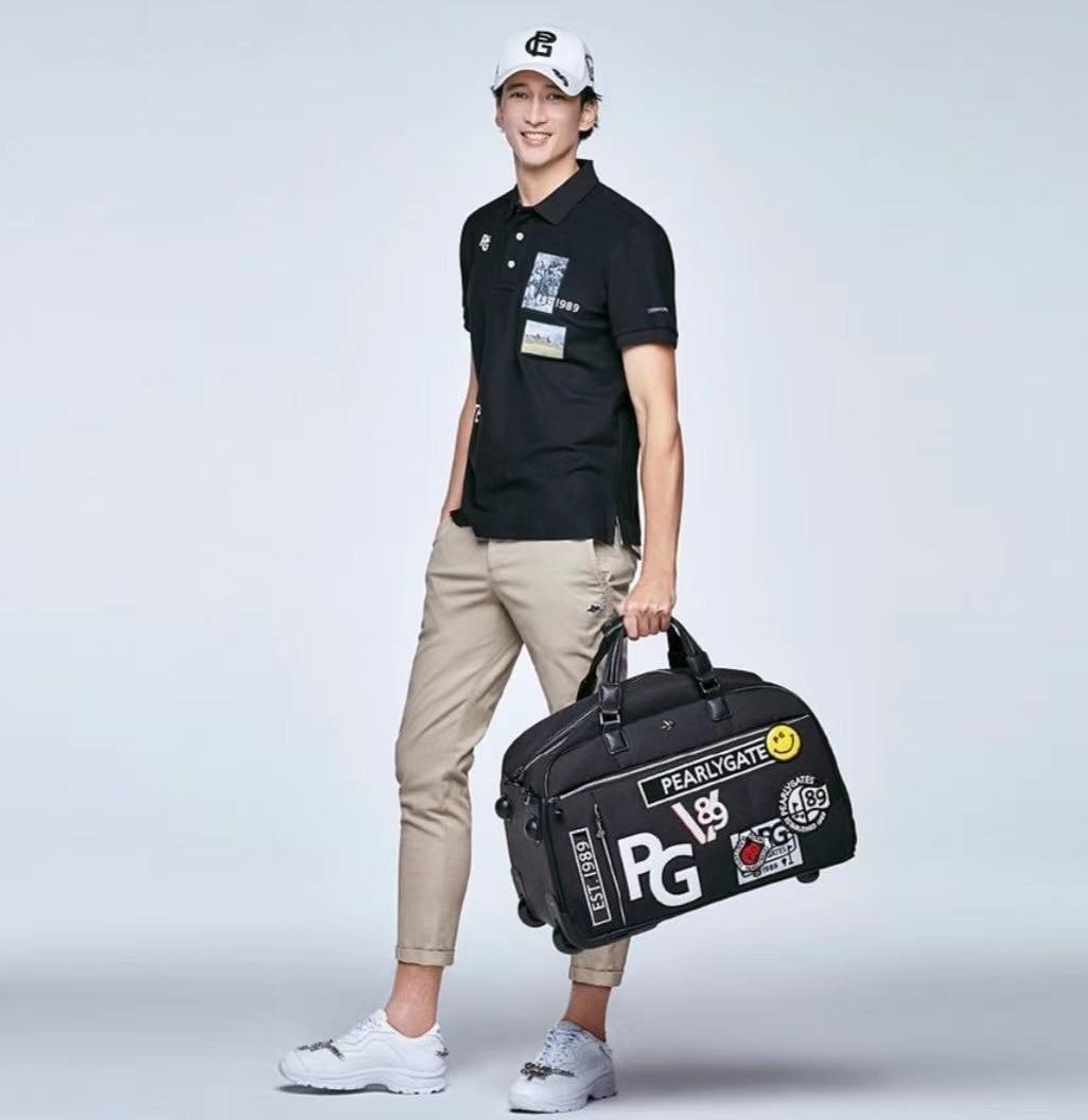 Golf Boston Bag Clothing Shoe Bag Travel Trolley Bag