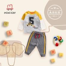 Children's clothes casual suit baby spring clothes children's two-piece set