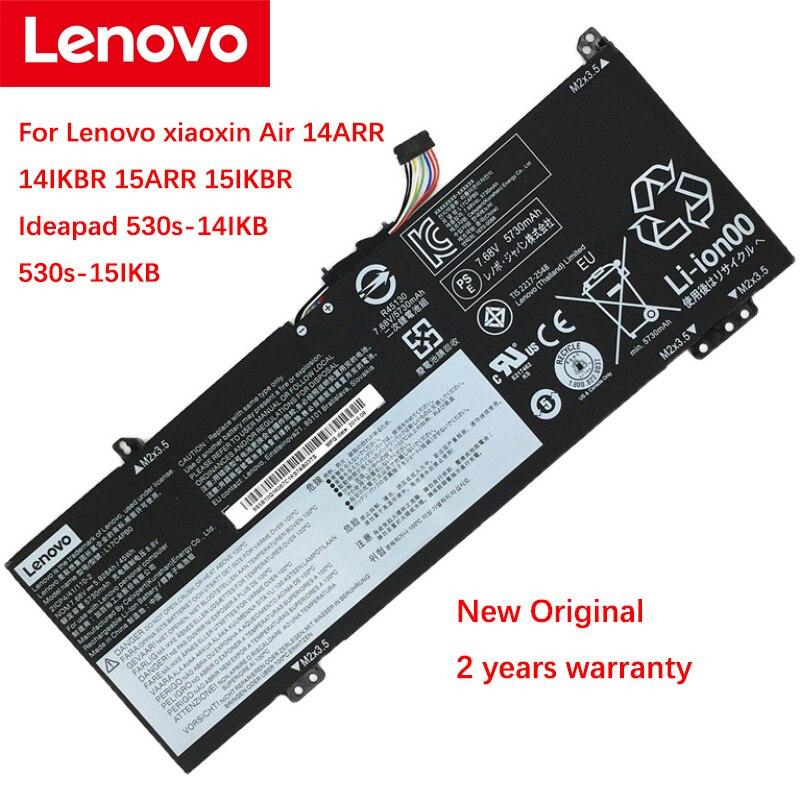 بطارية كمبيوتر محمول جديدة وأصلية لأجهزة Lenovo xiaoxin Air 14ARR 14IKBR 15ARR 15IKBR Ideapad 530s-14IKB 530s-15IKB L17C4PB0 L17M4PB0