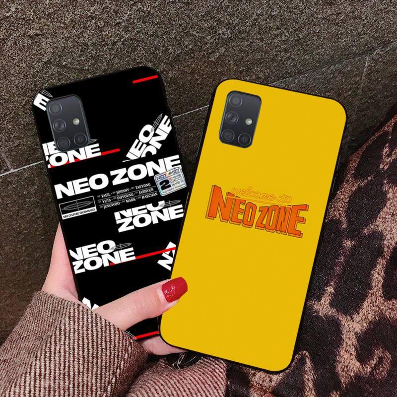 Kpop NCT 127 Neo zona Logotipo de silicona suave funda de teléfono TPU para Samsung A10 A20 A30 A40 A50 A70 A80 A71 A91 A51 A6 A8 2018