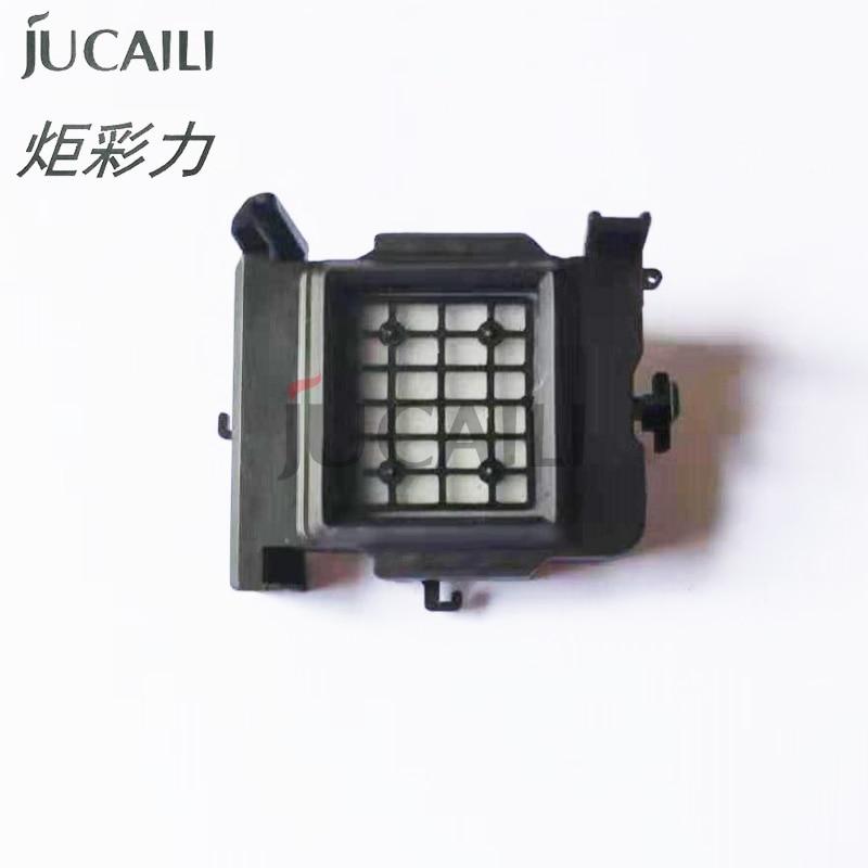 Jucaili 10 قطعة/الوحدة غطاء حبر علوي لإبسون XP600 TX800 رأس الطباعة السد محطة لإبسون Xuli Allwin ايكو المذيبات الطابعة
