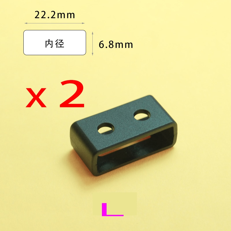 3 Size Resin TPU Watch Strap Buckle Band Keeper Hoop Loop Holder Retainer Ring For SGW-400H, SGW-500
