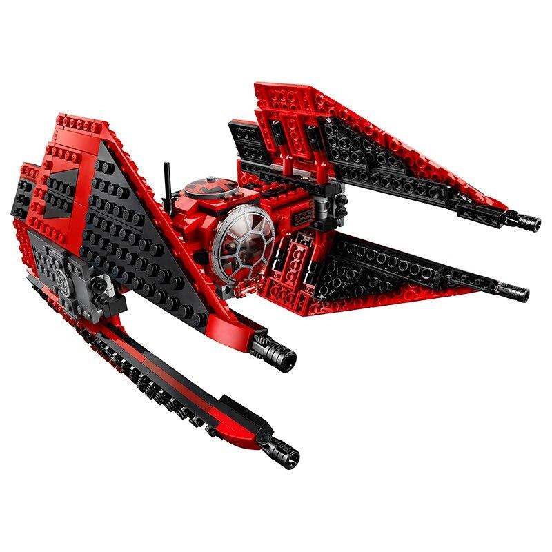StarWars Compatible Lepining nueva Corbata con estrellas Fighter MicroFighters Wars de bloques de construcción Skywalker 75257 juguetes para regalo de niños