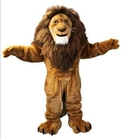mascot fire lion costume cartoon outfit character fancy cosplay dress adult xmas factory wholesale free postage