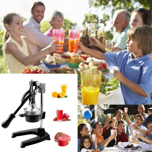 Multifunctional Manual Fruit Juicer U Type Stainless Steel Hand Citrus Juicers Juice Extractor Household Juicer Machine