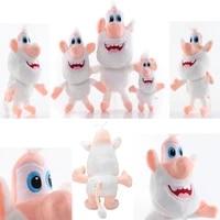 russian cartoon white pig cooper booba buba cooper plush soft toy cute soft stuffed doll present for children gift plush toys