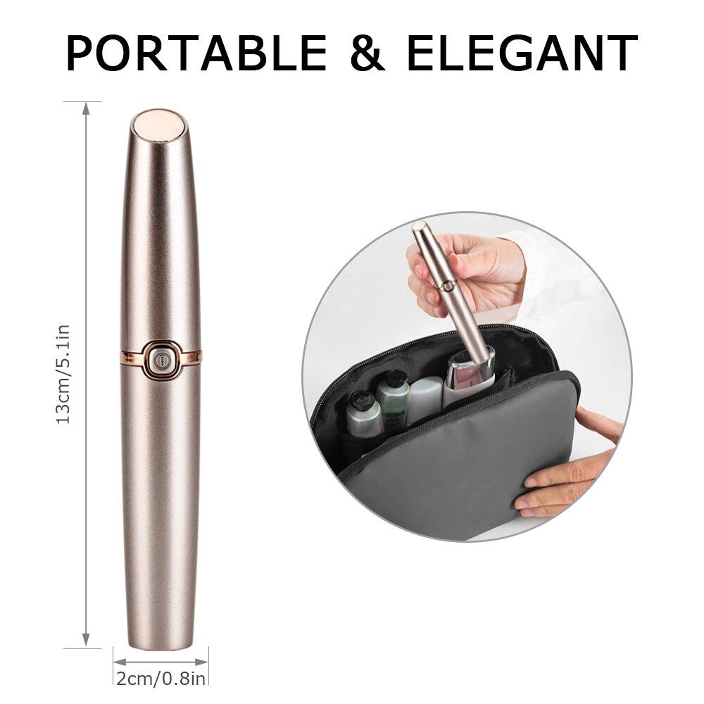 USB Rechargable Female Electric Epilator Women Shaver Hair Removal Lady Shaving Trimmer Bikini Depilatory Legs Body Depilador enlarge
