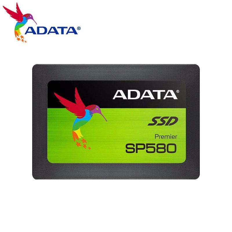 ADATA SSD 480GB محرك أقراص الحالة الصلبة الداخلية لأجهزة الكمبيوتر سطح المكتب 120GB 240GB 2.5 بوصة SATA III محرك أقراص صلبة HDD HD دفتر SP580
